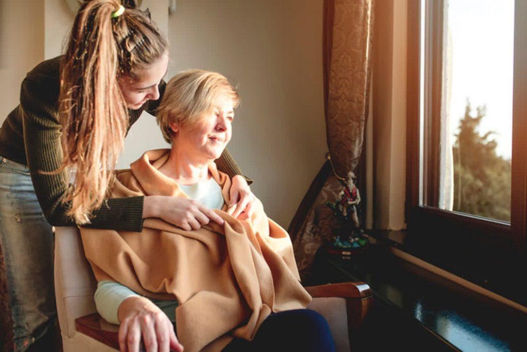 مراقبت و نگهداری از سالمند