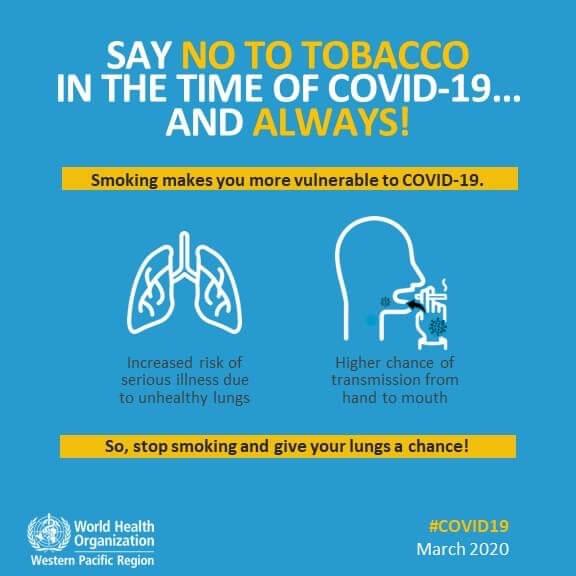 سازمان بهداشت جهانی سیگار و کرونا